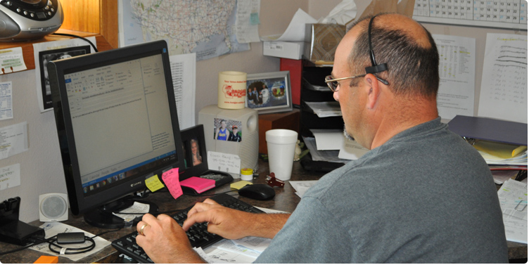 Dispatch   Rands Trucking   Operations